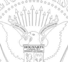 Ravenclaw Ramones Seal Sticker