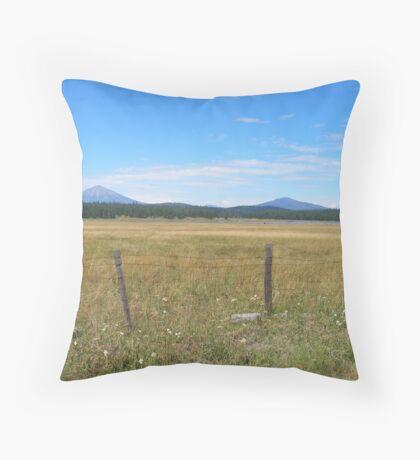Rural Serenity Throw Pillow