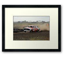 racing hard Framed Print
