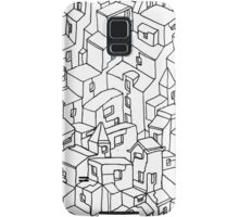 Endless One Line City Samsung Galaxy Case/Skin