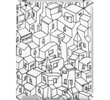 Endless One Line City iPad Case/Skin