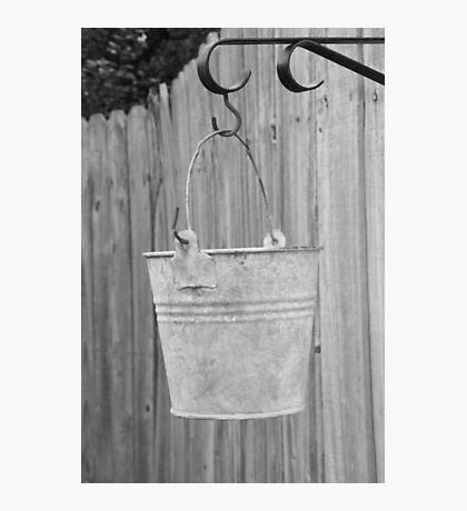 Lonely Bucket Photographic Print