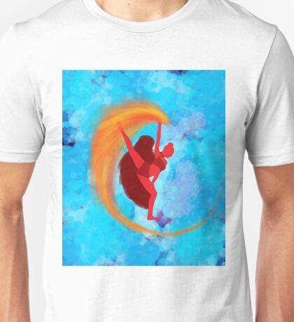 Fire Dancer Unisex T-Shirt