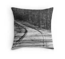 A Road To Anywhere Throw Pillow