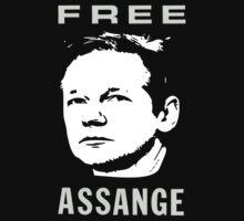 Free Julian Assange by creativereasons