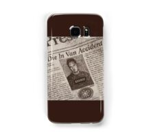 Never Kill A Boy on the First Date - BtVS Samsung Galaxy Case/Skin
