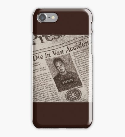 Never Kill A Boy on the First Date - BtVS iPhone Case/Skin