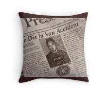 Never Kill A Boy on the First Date - BtVS Throw Pillow