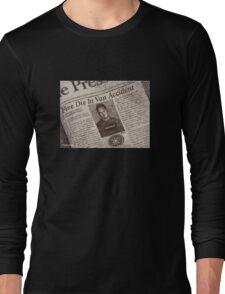 Never Kill A Boy on the First Date - BtVS Long Sleeve T-Shirt