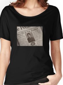 Never Kill A Boy on the First Date - BtVS Women's Relaxed Fit T-Shirt