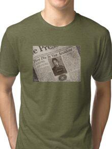 Never Kill A Boy on the First Date - BtVS Tri-blend T-Shirt