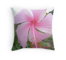 Punta Cana Flower Throw Pillow