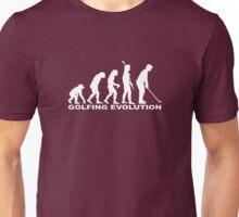 Golfing Evolution Unisex T-Shirt