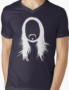 Steve Aoki White Head (For dark shirts) Mens V-Neck T-Shirt