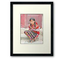 Sweet Yolanda  Framed Print