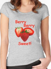 Berry Berry Sweet! Women's Fitted Scoop T-Shirt