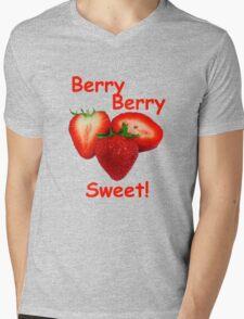Berry Berry Sweet! Mens V-Neck T-Shirt