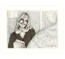 Angel - Darla III - BtVS Art Print