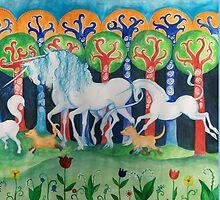 Spring Procession by molokovskaja