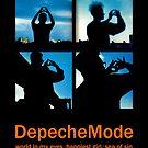 Depeche Mode : World In My Eyes / Happiest Girl / Sea of Sin - 2 - Photo by Luc Lambert