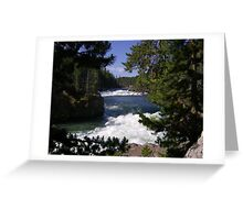 River Running Greeting Card