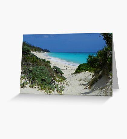 Bermuda Coastline Greeting Card