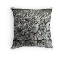 Grant Statue Relief Throw Pillow