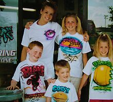 airbrushed tee shirts by Airbrushr  Rick Shores