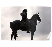 Ulysses S. Grant Statue Poster