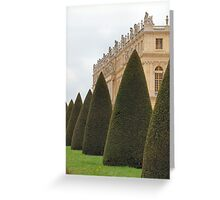 Chateau Versailles Greeting Card