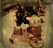 Wagon full of gifts by DonaldCole