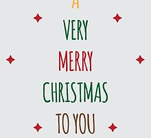 'Tis the Season [A Very Merry Christmas to You] by Agatha Sanabria