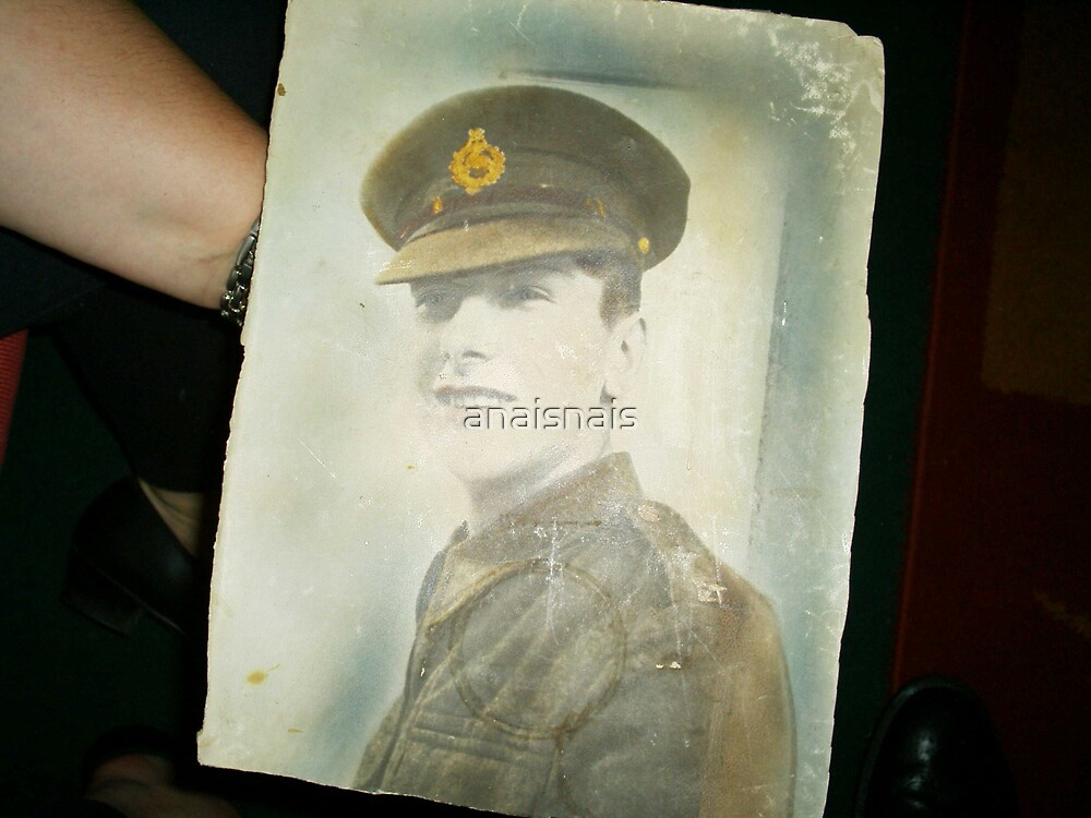 Old family military photograph - Great Uncle John Campsie - Edinburgh by anaisnais