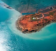Flying over Gantheaume Point, Broome by Renee Hubbard Fine Art Photography