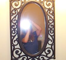 Self Portrait in Mirror by karen66