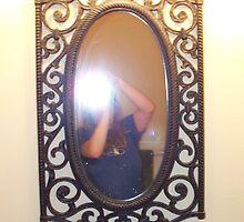 Self Portrait in Mirror by karen66