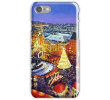 Prague Old Town Square Christmas market 2014 iPhone Case/Skin