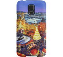 Prague Old Town Square Christmas market 2014 Samsung Galaxy Case/Skin