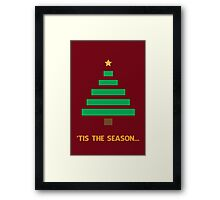 'Tis the Season [Tree] Framed Print