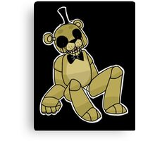 Golden Freddy - Five Nights at Freddy's Canvas Print