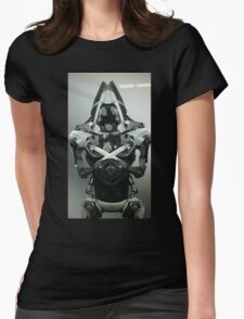 Assassin Robot Womens Fitted T-Shirt
