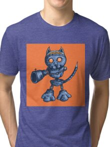 Fear the Cat Tri-blend T-Shirt
