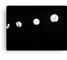 Imprisoned lights Canvas Print