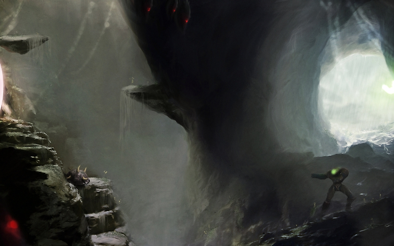 Zebes Cave by orioto