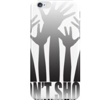 Boujie Originals - TagTees Collection - Don't Shoot iPhone Case/Skin