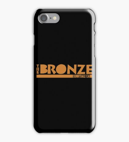 The Bronze, Sunnydale, CA iPhone Case/Skin