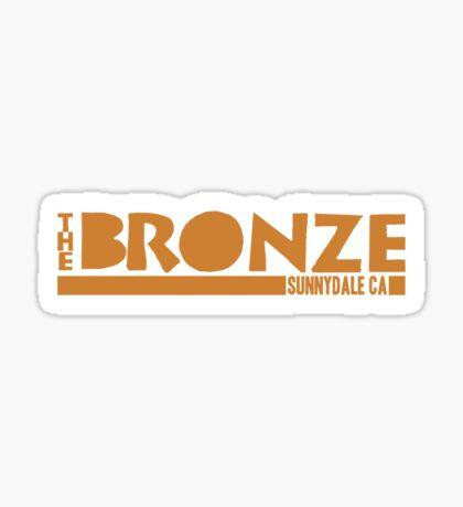 The Bronze, Sunnydale, CA Sticker