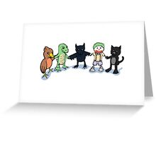 Batty and Friends Greeting Card