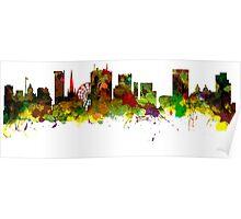 Birmingham  City  UK Skyline Poster