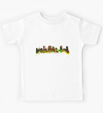 Birmingham  City  UK Skyline Kids Tee